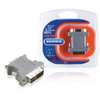 BCP146 Dvi-adapter dvi-a 12+5-pins male - vga female 15-pins grijs