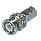 BNC-001 Connector bnc 6.8 mm male metaal zilver