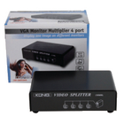 CMP-SWITCH95 4-poorts vga-splitter zwart