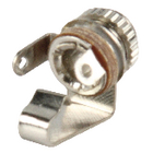 JC-022 Monoconnector 3.5 mm female metaal zilver