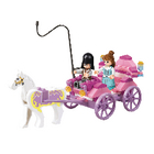 M38-B0239 Bouwstenen girls dream serie prinsessenkoets