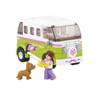 M38-B0523 Bouwstenen girls dream serie camper