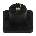 SPK-4CS Connector speaker 4-pin female pvc zwart