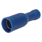 ST-141 Connector fast on 5.0 mm female blauw