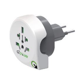 1.100200 Power travel adaptor world to ch