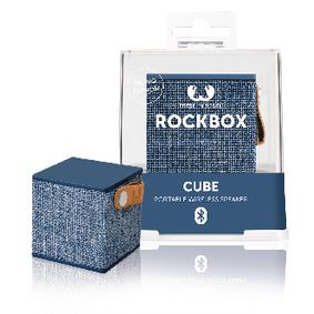 1RB1000IN Bluetooth-Speaker Rockbox Cube Fabriq Edition 3 W Indigo