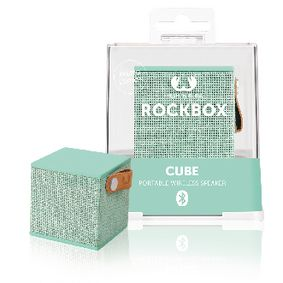 1RB1000PT Bluetooth-Speaker Rockbox Cube Fabriq Edition 3 W Peppermint