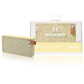 1RB2500BC Bluetooth-Speaker Rockbox Slice Fabriq Edition 6 W Buttercup