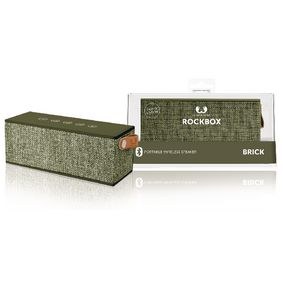 1RB3000AR Bluetooth-Speaker Rockbox Brick Fabriq Edition 12 W Army
