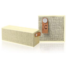 1RB3000BC Bluetooth-Speaker Rockbox Brick Fabriq Edition 12 W Buttercup