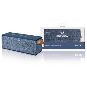 1RB3000IN Bluetooth-Speaker Rockbox Brick Fabriq Edition 12 W Indigo