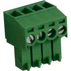 RND 205-00091 Female plug screw terminal schroef connectie 4p
