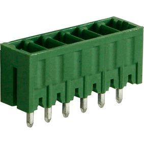 RND 205-00104 Male header tht soldeer pin [pcb, through-hole] 6p