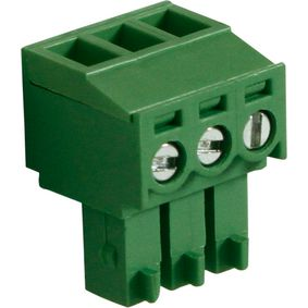 RND 205-00123 Female connector screw terminal schroef connectie 3p