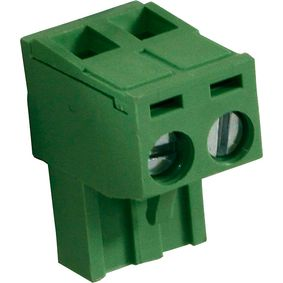 RND 205-00177 Female connector screw terminal schroef connectie 2p