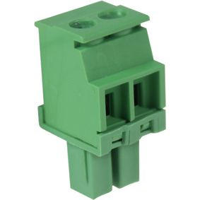 RND 205-00320 Female connector screw terminal schroef connectie 2p
