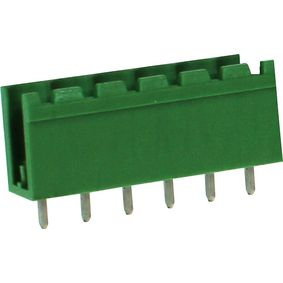 RND 205-00412 Male header tht soldeer pin [pcb, through-hole] 6p