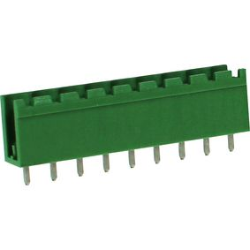 RND 205-00415 Male header tht soldeer pin [pcb, through-hole] 9p