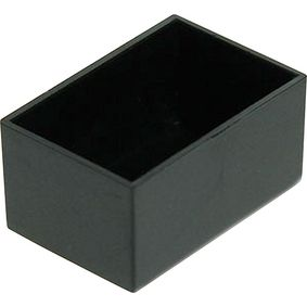 RND 455-00016 Potting box 20 x 30 x 15 mm zwart abs pu = 10 st