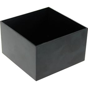 RND 455-00018 Potting box 50 x 50 x 30 mm zwart abs pu = 10 st