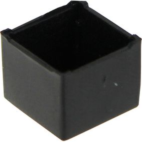 RND 455-00019 Potting box 11 x 11 x 9 mm zwart abs pu = 10 st