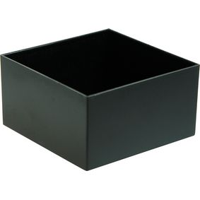 RND 455-00020 Potting box 75 x 75 x 40 mm zwart abs pu = 10 st