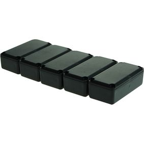 RND 455-00032 Potting box 16 x 22.5 x 11.3 mm zwart pu = 5 st
