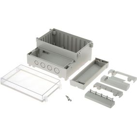 RND 455-00060 PCB Enclosure 161 x 166 x 93 mm ABS / PC