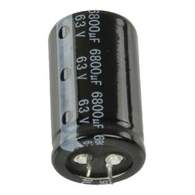 6800/63S3050 Snap-in electrolytic capacitor 6800 uf 63 vdc