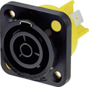 NTR-NAC3FPX Panel mount socket Polen 3