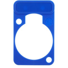 NTR-DSS-6 Colour-coded marking plate Blauw