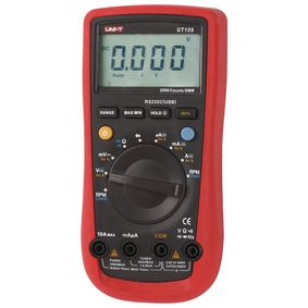UT109 Digitale multimeter Mean value 3999 Cijfers 1000 VAC 1000 VDC 10 ADC