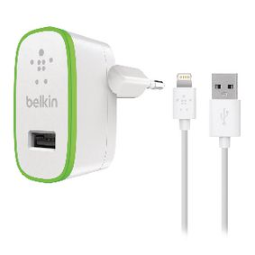 ACCBELPOW0008 Home charger 2.1a with 1.2m lightning connector cable