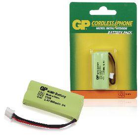 ACCU-T356 Oplaadbare nimh batterij pack 2.4 v 600 mah 1-blister