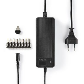 ACPA116 Universele ac-stroomadapter | type c (cee 7/16 | 60 w | 6 / 7.5 / 9 / 12 / 13.5 / 15 / 16 vdc | uitg