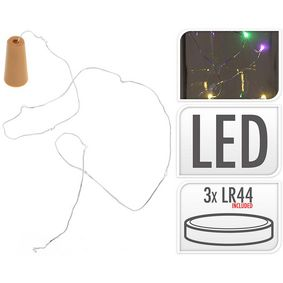 AX5210010 Flessenstopper 8 led multi