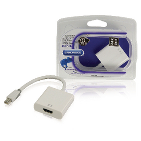 BBM37650W02 Mini displayport kabel mini-displayport male - hdmi male 0.20 m wit