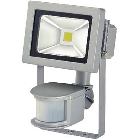 BN-1171250122 LED Floodlight met Sensor 10 W 700 lm Grijs