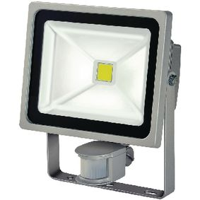BN-1171250322 Led floodlight met sensor 30 w 2100 lm grijs