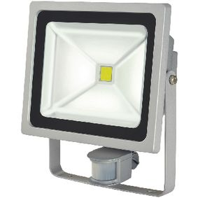 BN-1171250522 Led floodlight met sensor 50 w 3500 lm grijs
