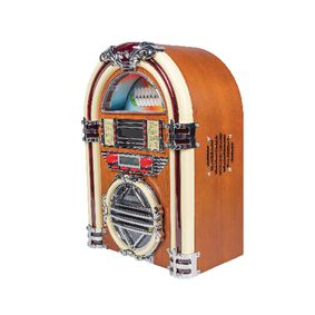 BXL-JB10 Tafelradio jukebox fm / am cd bruin