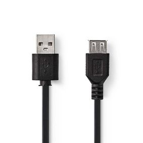 CCGT60010BK30 Kabel USB 2.0 | A male - USB A female | 3,0 m | Zwart