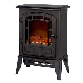 CF22417 Electric fireplace heater torino vrijstaand 2000 w zwart