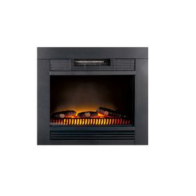 CF54211 Electric Fireplace Heater Chicago Ingebouwd 1800 W Zwart