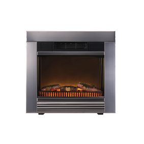 CF54273 Electric Fireplace Heater Chicago Ingebouwd 1800 W Metaal