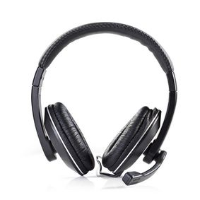 CHST200BK Pc-headset | over-ear | microfoon | dubbele 3,5 mm connector