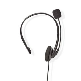 CHSTRJ100BK PC-Headset | On-Ear | RJ9-Connector | 2,2 m | Zwart