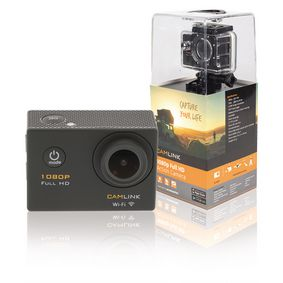 CL-AC21 Full hd action cam 1080p wi-fi zwart