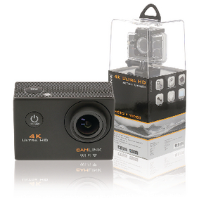 CL-AC40 4k ultra hd action cam wi-fi zwart
