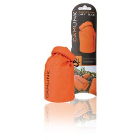 CL-DB002 Outdoor dry bag oranje/zwart 2 l